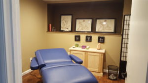 The Acupuncture Treatment Room